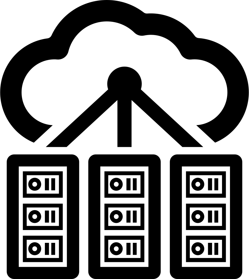 Cloud Computing Servers Svg Png Icon Free Download 56651
