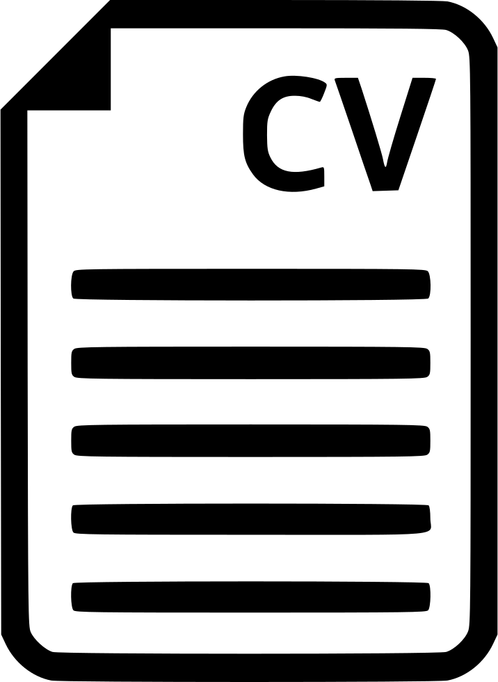 cv portfolio document svg png icon free download   568915