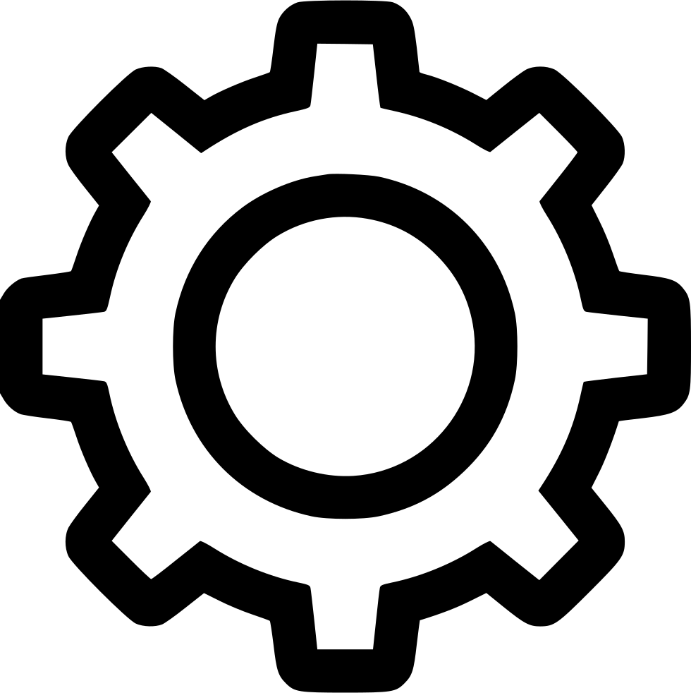 Settings Gear Svg Png Icon Free Download (#569585 ...