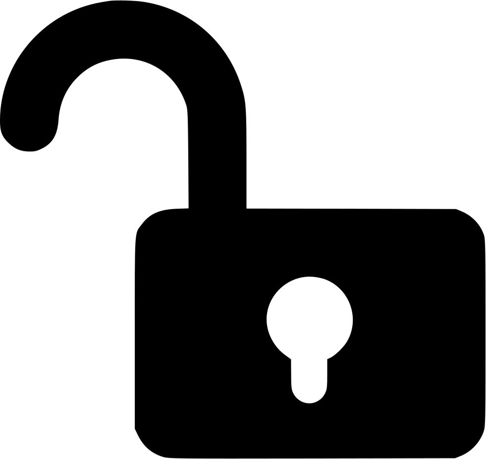 Lock Unlock Password Protect Public Allow Svg Png Icon Free