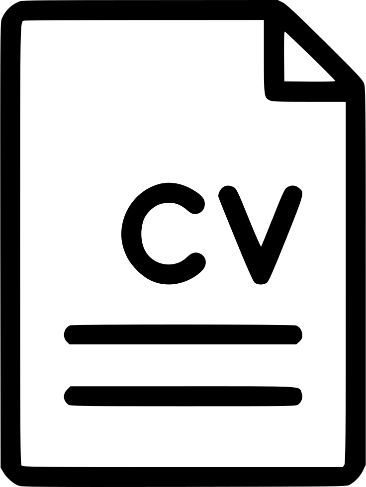file document cv curriculum vitae svg png icon free download   571171