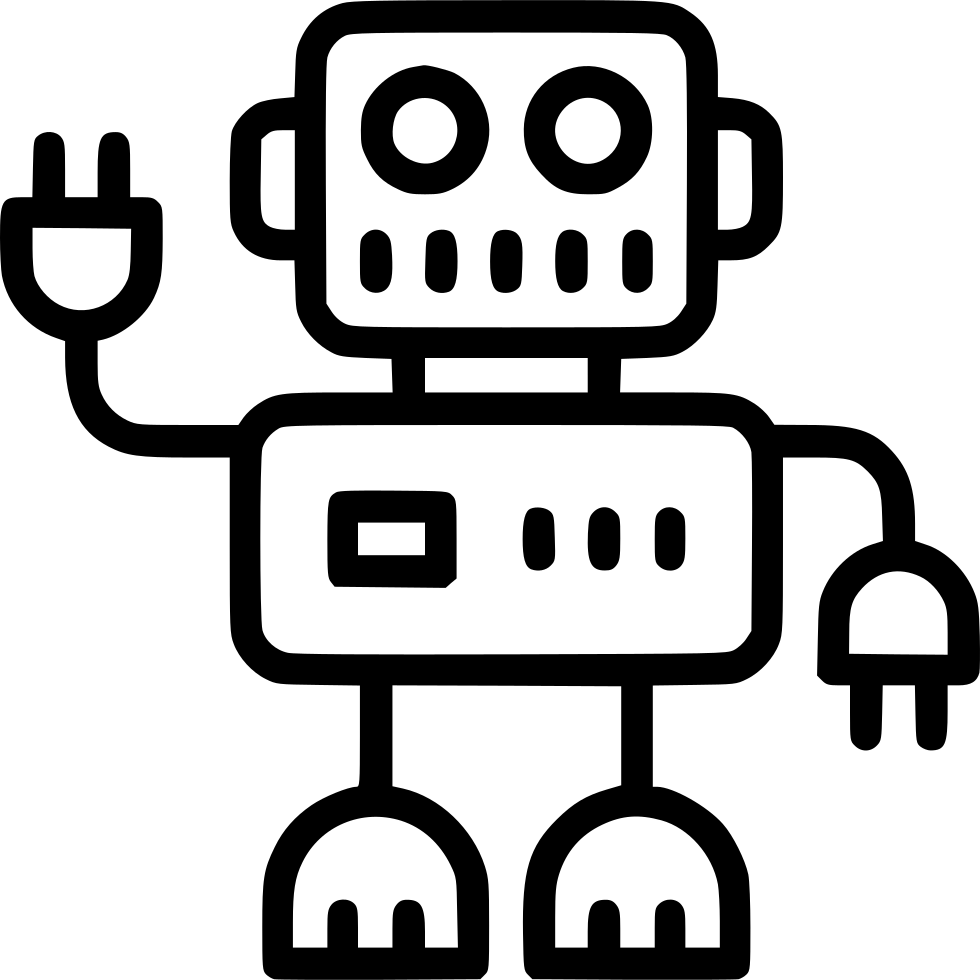 robot artificial intelligence ai science svg png icon free
