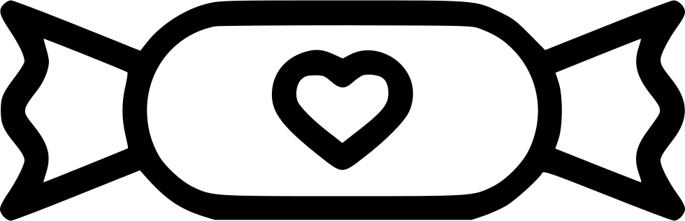Romantic Valentine Valentines Day Candy Chocolate Svg Png Icon Free
