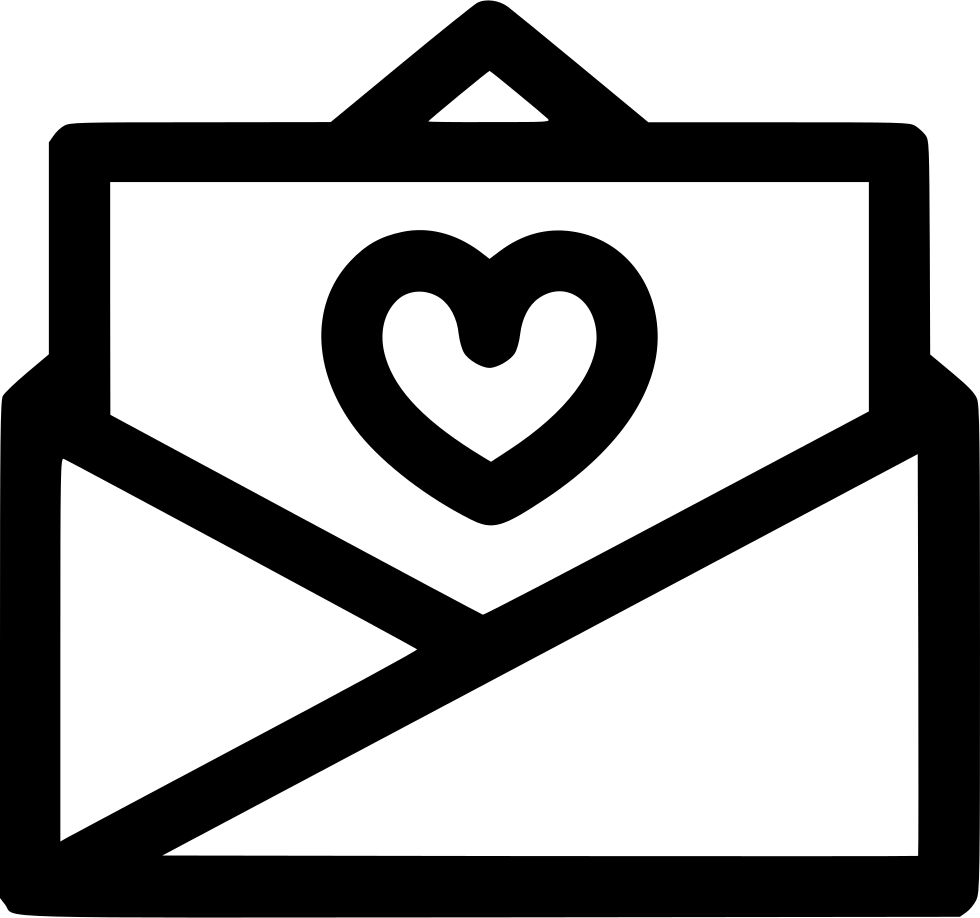 Open Love Letter Svg Png Icon Free Download (#573098