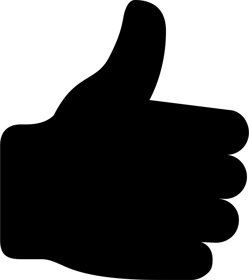 thumbs up svg png icon free download   57331