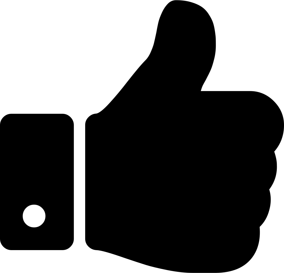 Thumbs Up Hand Symbol Comments