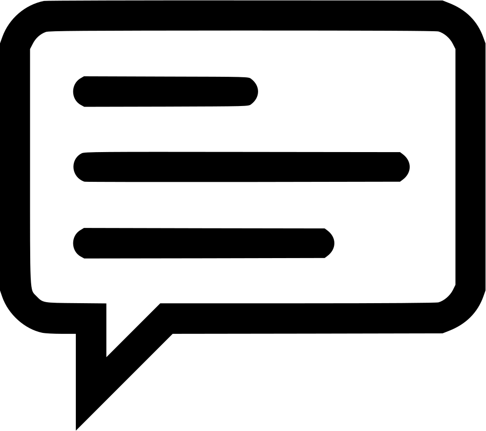 Sms Chat Message Information Memo Whatsapp Svg Png Icon ...