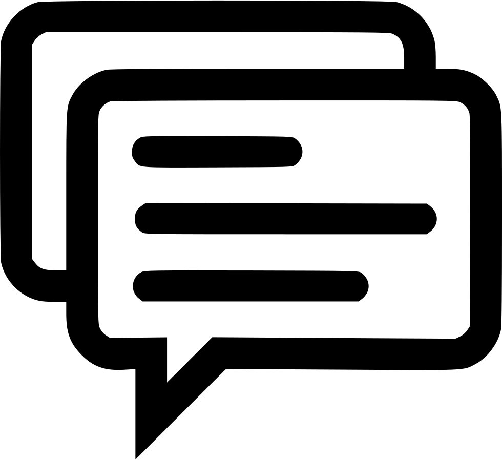Sms Chat Message Information Memo Whatsapp Svg Png Icon Free