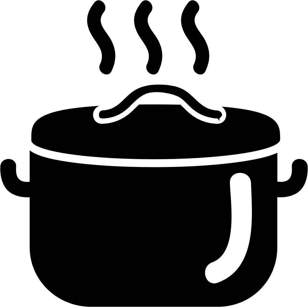 cooking food in a hot casserole svg png icon free download