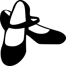 Flamenco Shoes Black And White