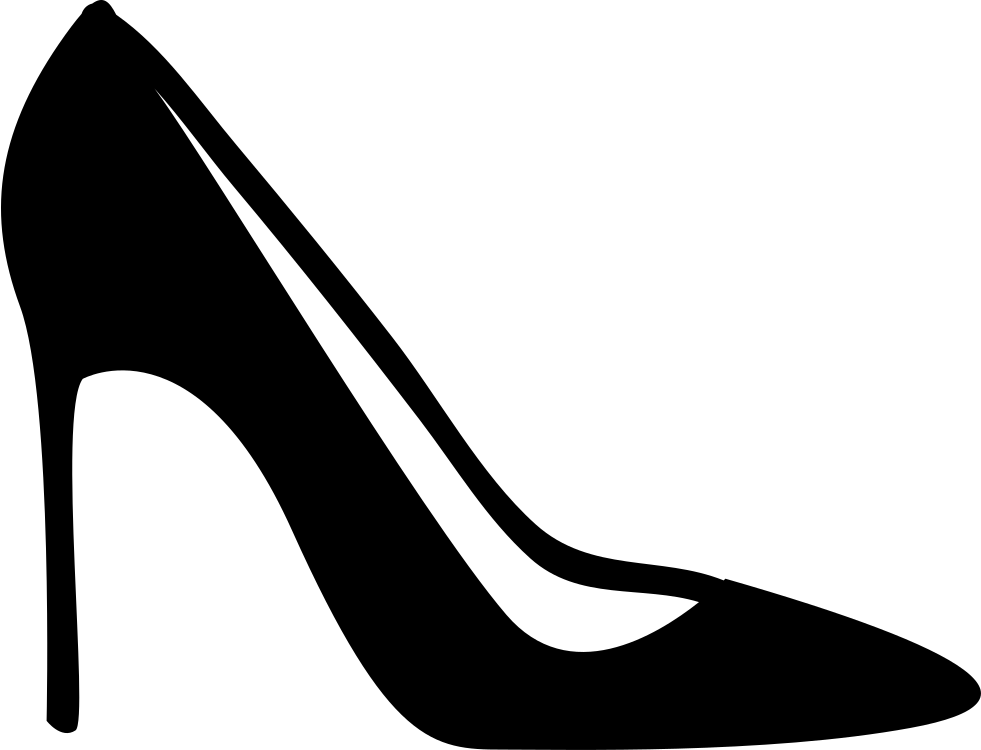 Free Clipart Of High Heel Shoes