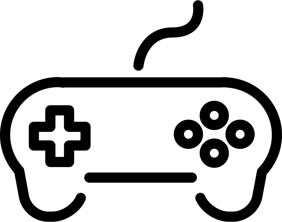 Game Controller With Wire Svg Icon Free Download 60200