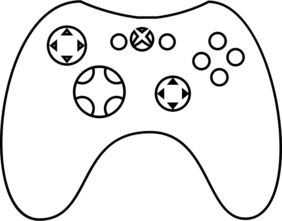 Xbox Gamepad Svg Icon Free Download 60382