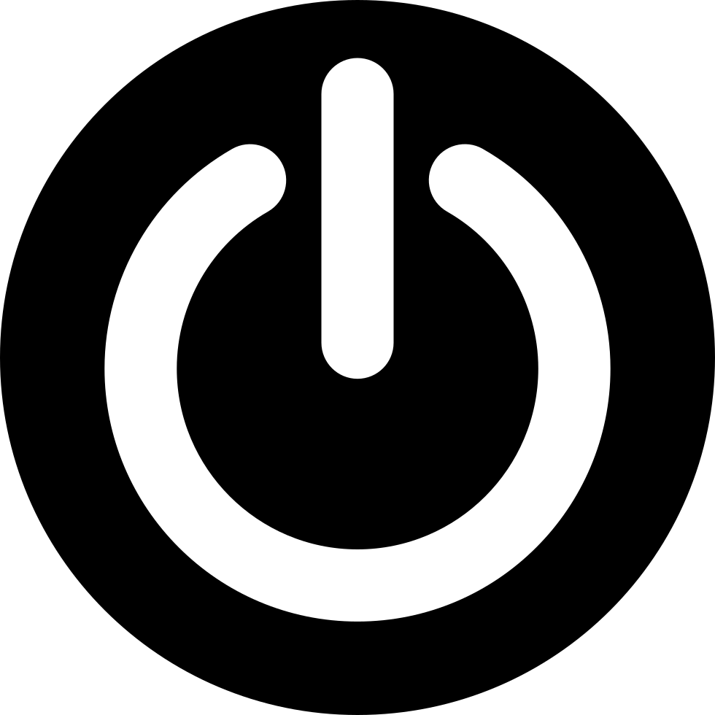 icon svg button power circular onlinewebfonts