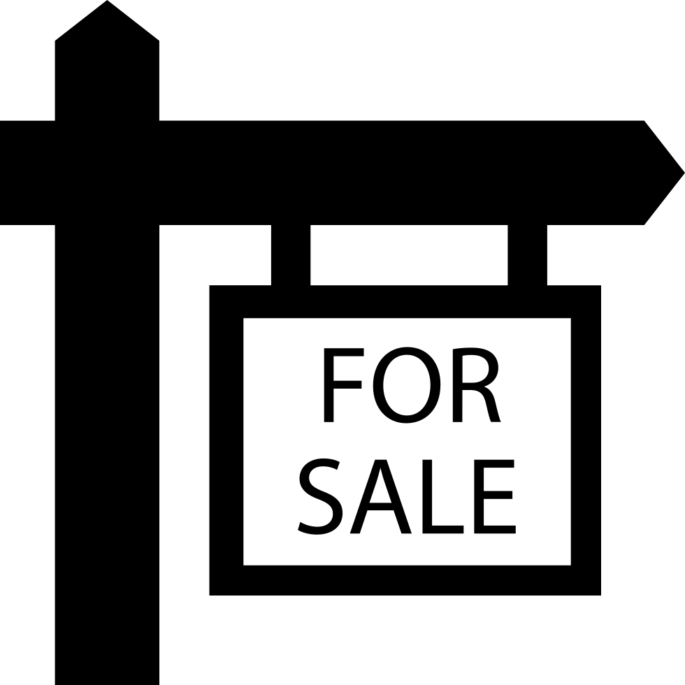 For Sale Real Estate Hanging Signal Svg Png Icon Free