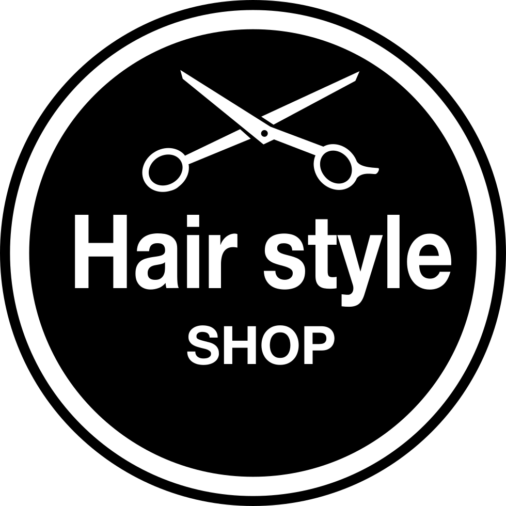 Hair Style Salon Circular Badge Svg Png Icon Free Download (#60841