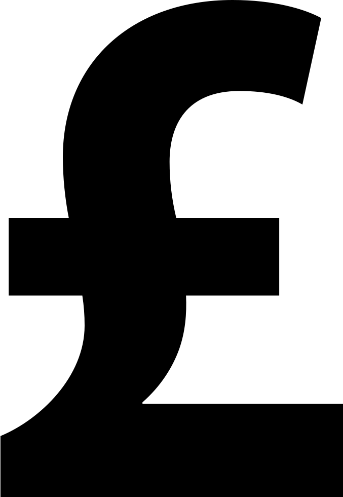 Pound Currency Bold Symbol Svg Png Icon Free Download 62021