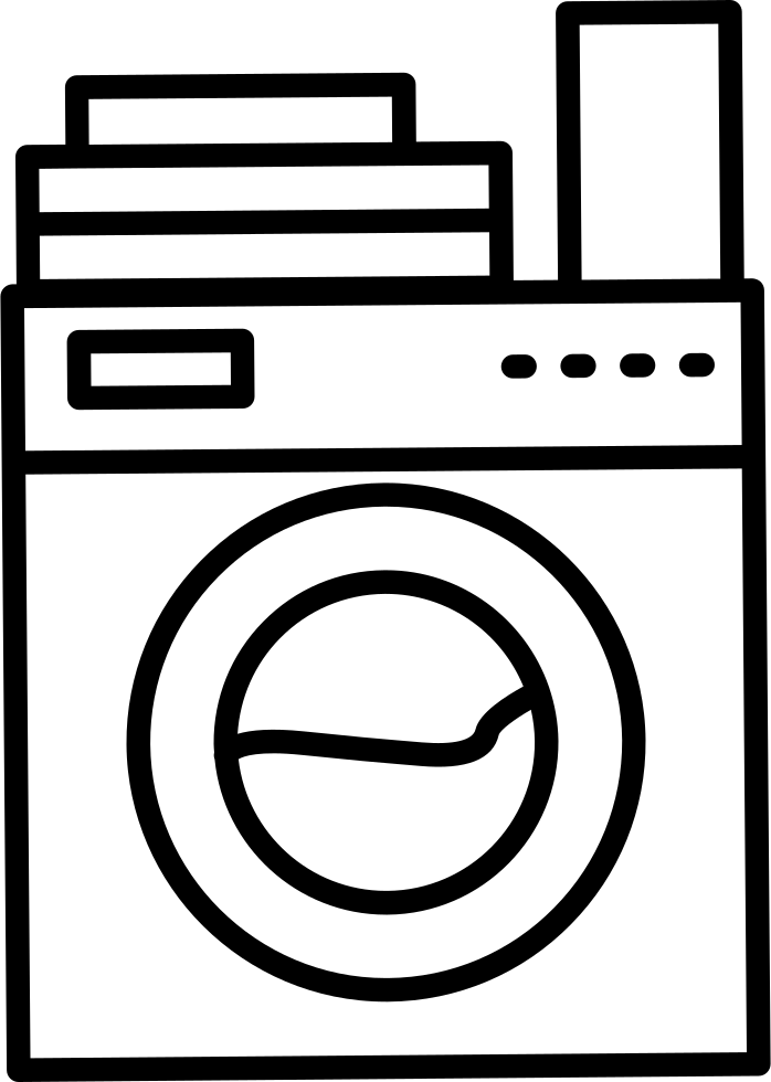 Download Laundry Machine Variant With Clothes And Soap On Top Svg ...