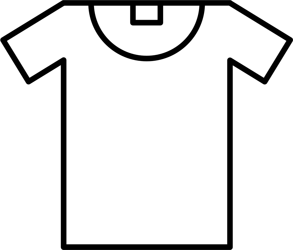 t shirt outline svg png icon free download   62873 winter clothes clipart for preschool winter clothes clipart black and white
