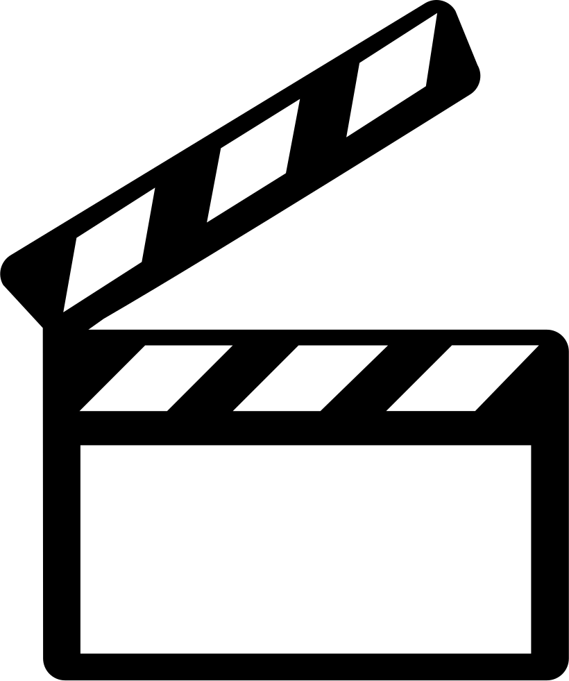 cinema clapperboard svg png icon free download   63252