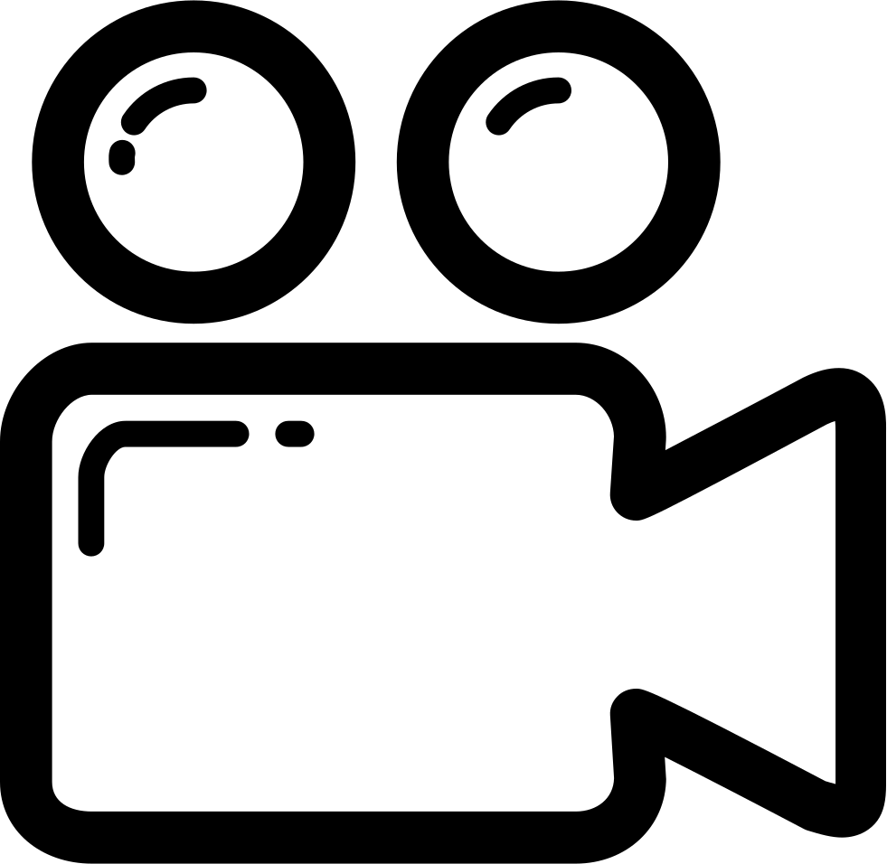 Video Camera Outline Svg Png Icon Free Download (#63405 ...
