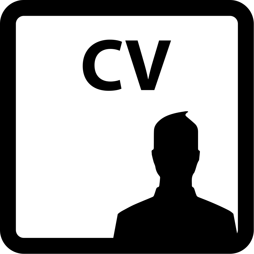 Curriculum Vitae Of A Man Svg Png Icon Free Download 65259