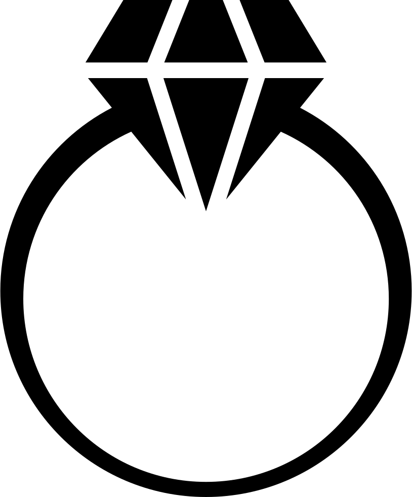 diamond ring svg png icon free download 65794