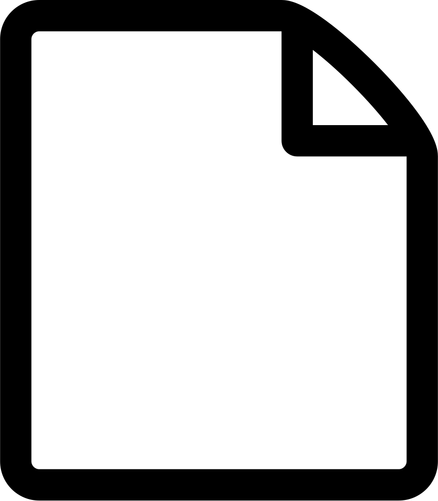 file-empty file document paper page new empty blank svg png icon