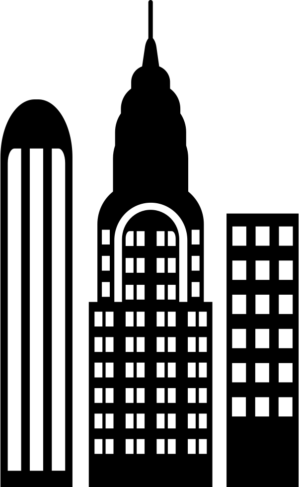 Skyscrapers Svg Png Icon Free Download 66123