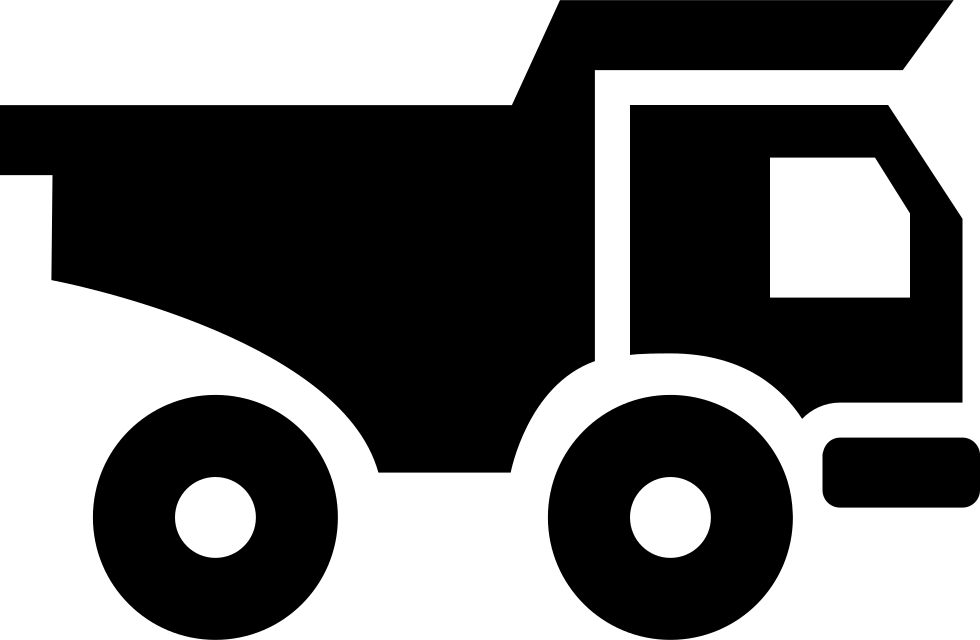 Truck For Construction Materials Transport Svg Png Icon