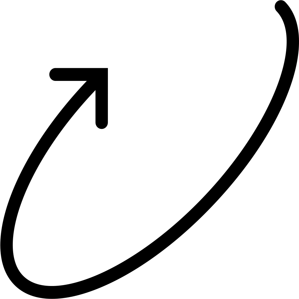 Edit A Line Or Arrow Line Arrow Wordart Picture Clip: Circular Arrow Svg Png Icon Free Download (#68476