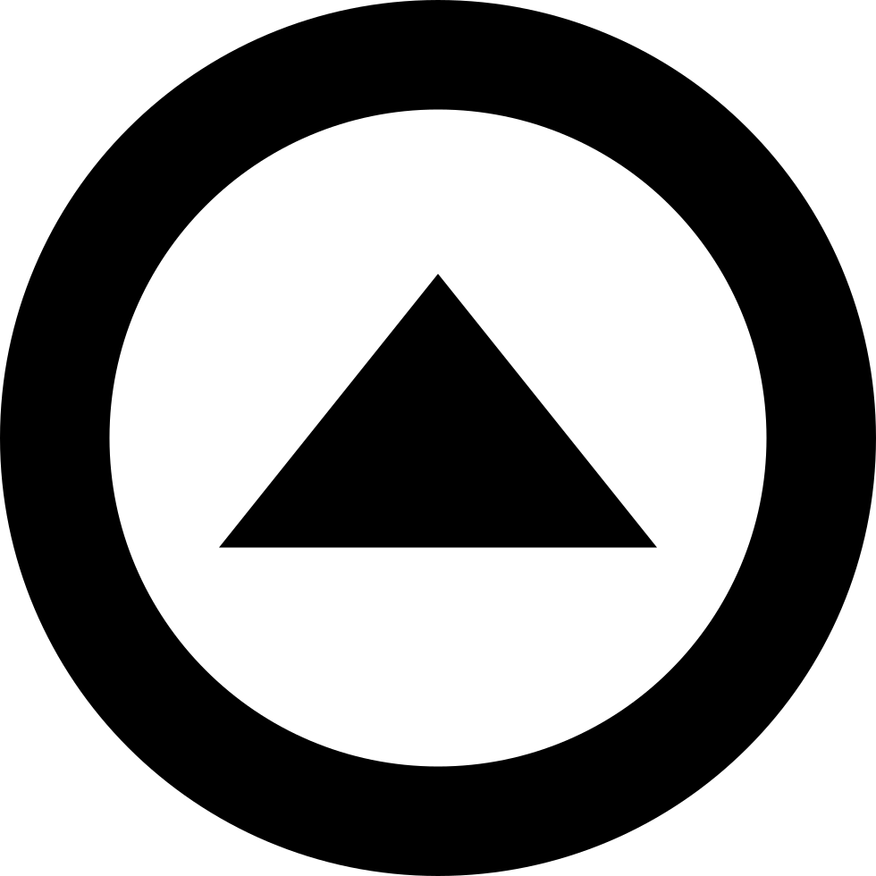 Triangle inside circle svg png icon free download 68683 triangle inside circle comments buycottarizona