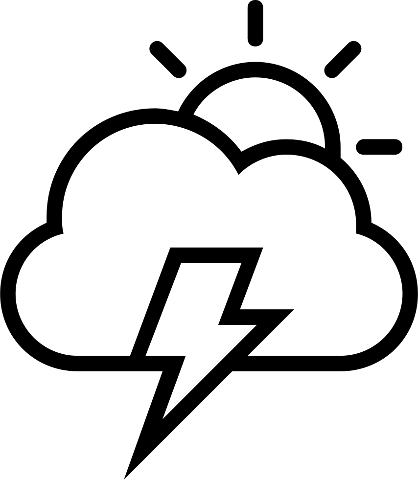 storm day weather interface symbol of sun cloud and a lightning bolt Ganpati Symbol storm day weather interface symbol of sun cloud and a lightning bolt ments