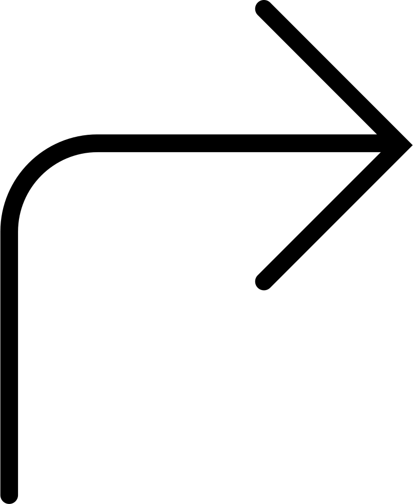 Right Curved Arrow Comments