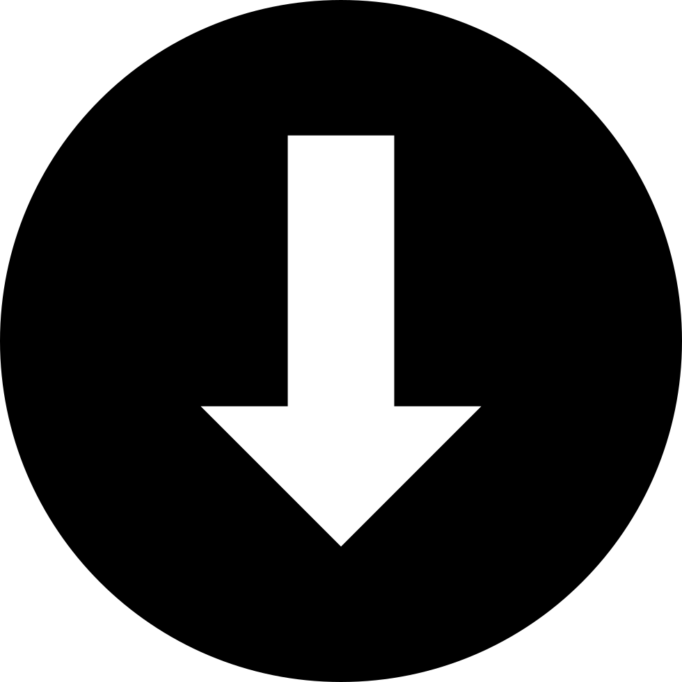 Download Down Arrow Circular Signal Svg Png Icon Free Download