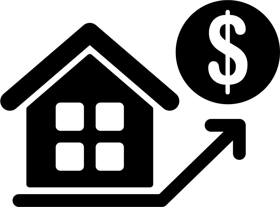 House Prices Rising Svg Png Icon Free Download (#71866 ...