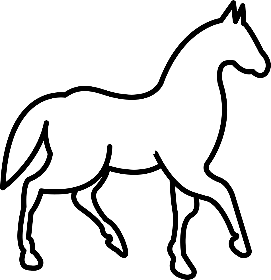 walking horse with one foot lifted svg icon free download Good Horse Feet walking horse with one foot lifted ments