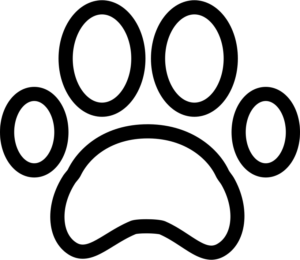 Paw Print Svg Png Icon Free Download 74372 Onlinewebfonts Com Dog cat paw decal , paw print transparent background png clipart. online web fonts