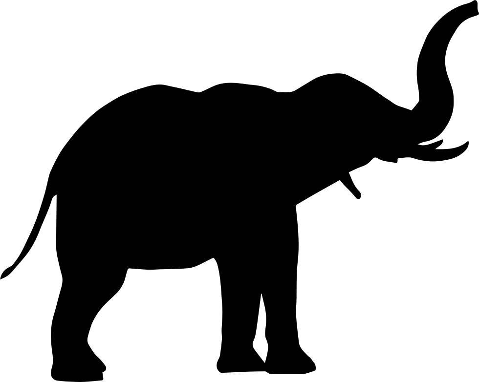 Elephant Side View Svg Png Icon Free Download 74712 Onlinewebfonts Com African bush elephant indian elephant elephant head lodge, elephant, gray standing elephant transparent background png clipart. online web fonts