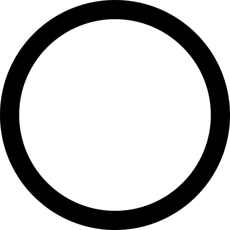 circle empty svg png icon free download   80053