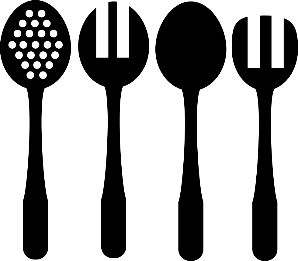 Download Spoons And Forks Of Kitchen Svg Png Icon Free Download ...