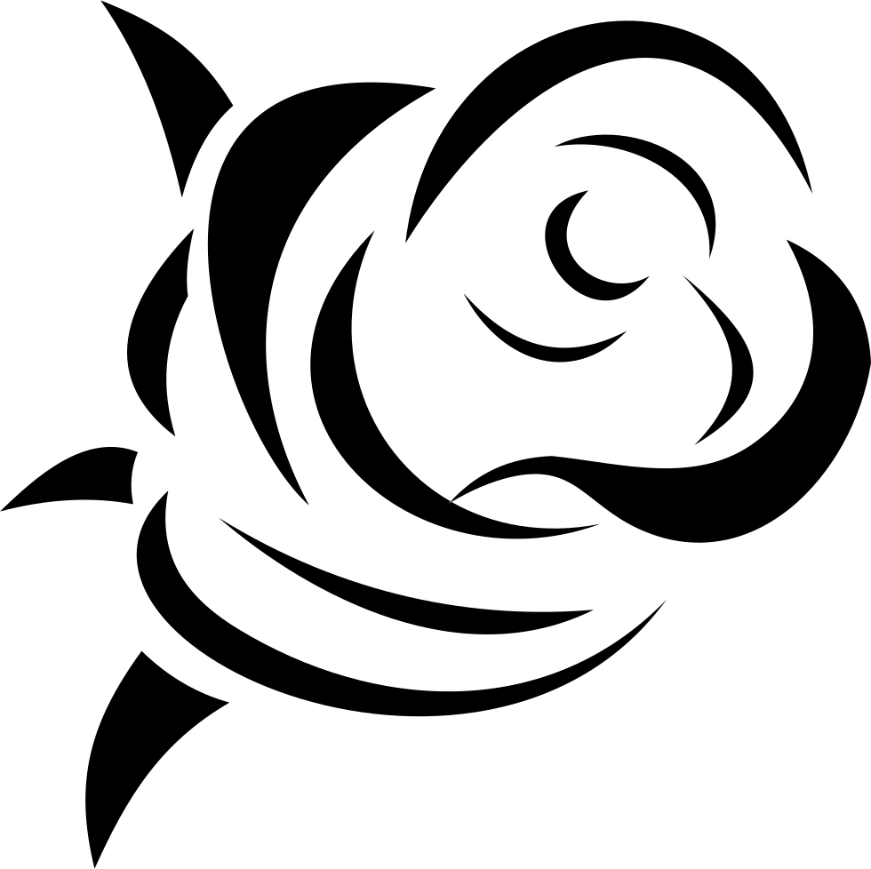 Download Rose Svg Png Icon Free Download (#87429) - OnlineWebFonts.COM