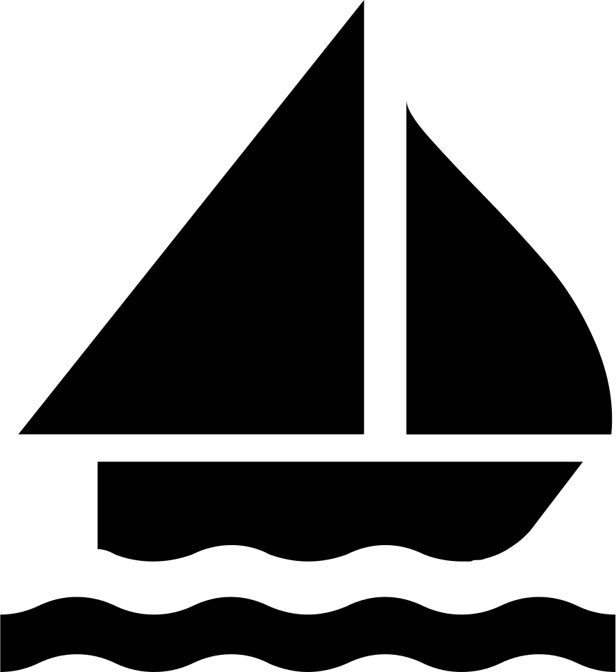 Sailing Boat Silhouette Svg Png Icon Free Download (#8791 ...
