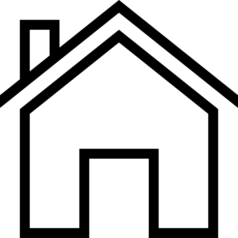 Ios Home Outline Svg Png Icon Free Download (#94556 ...