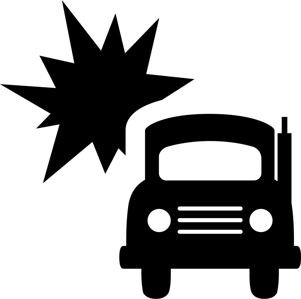 Truck Accident Svg Png Icon Free Download (#9847) - OnlineWebFonts.COM