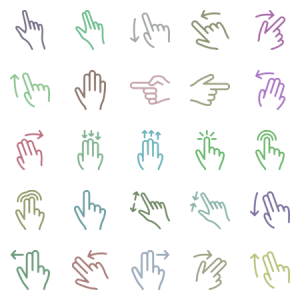 Thin Touch Gestures
