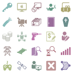 Mobile Development Svg Icons
