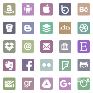 Glyphicons Social