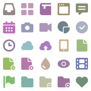 Bold Icons