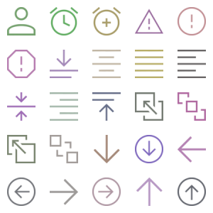 Material Design Icons Light
